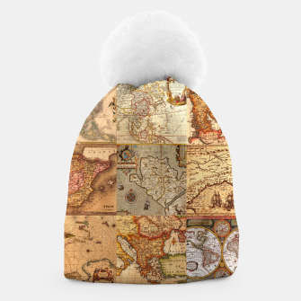 Thumbnail image of Old maps Beanie, Live Heroes