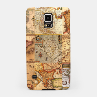 Thumbnail image of Old maps Samsung Case, Live Heroes