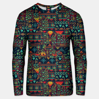 Miniaturka Cheerful ethnic Unisex sweater, Live Heroes