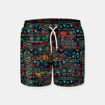 Miniaturka Cheerful ethnic Swim Shorts, Live Heroes
