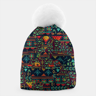 Miniaturka Cheerful ethnic Beanie, Live Heroes