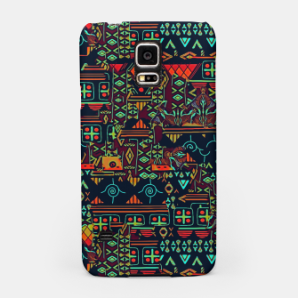 Miniaturka Cheerful ethnic Samsung Case, Live Heroes