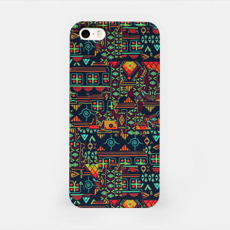 Miniaturka Cheerful ethnic iPhone Case, Live Heroes