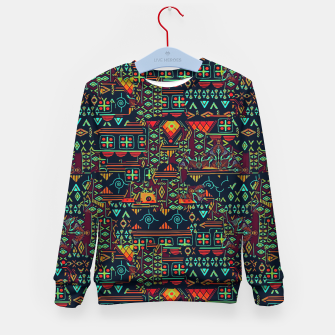 Miniaturka Cheerful ethnic Kid's sweater, Live Heroes