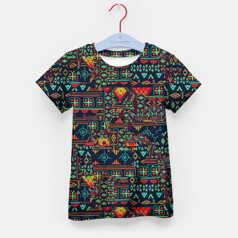 Miniaturka Cheerful ethnic Kid's t-shirt, Live Heroes