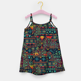 Miniaturka Cheerful ethnic Girl's dress, Live Heroes