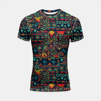 Miniaturka Cheerful ethnic Shortsleeve rashguard, Live Heroes