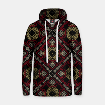 Thumbnail image of Pattern gold patch Kapuzenpullover, Live Heroes