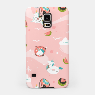 Thumbnail image of Hand drawn abstract Unicorns Samsung Case, Live Heroes