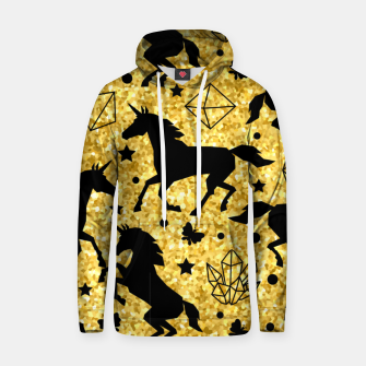 Thumbnail image of Gold Unicorns Hoodie, Live Heroes