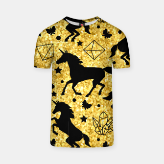 Thumbnail image of Gold Unicorns T-shirt, Live Heroes