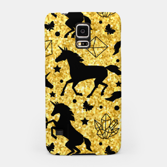 Thumbnail image of Gold Unicorns Samsung Case, Live Heroes