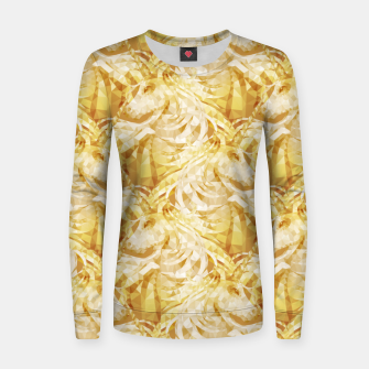 Thumbnail image of Gold Unicorns2 Women sweater, Live Heroes