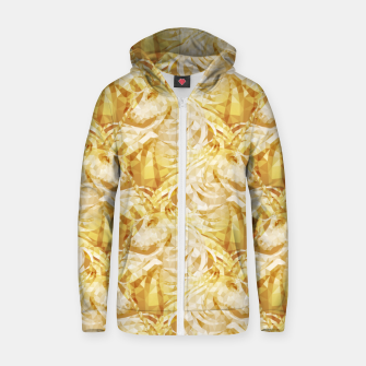 Thumbnail image of Gold Unicorns2 Zip up hoodie, Live Heroes