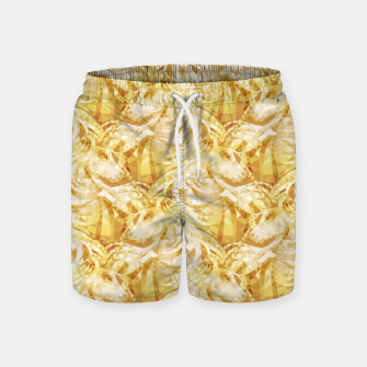 Thumbnail image of Gold Unicorns2 Swim Shorts, Live Heroes