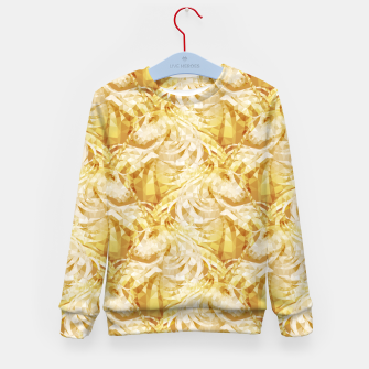 Thumbnail image of Gold Unicorns2 Kid's sweater, Live Heroes