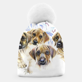 Thumbnail image of Rhodesian Puppies Beanie, Live Heroes
