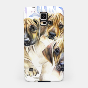 Thumbnail image of Rhodesian Puppies Samsung Case, Live Heroes