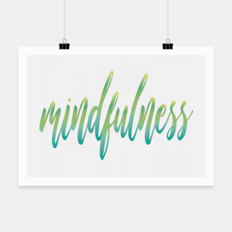 Thumbnail image of Mindfulness Poster, Live Heroes