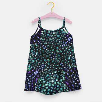 Thumbnail image of Chic Abstract Print Girl's dress, Live Heroes