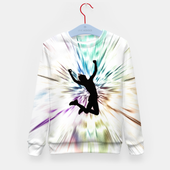 Thumbnail image of Jump Kid's sweater, Live Heroes