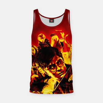 Miniaturka Harry Potter Art Tank Top, Live Heroes