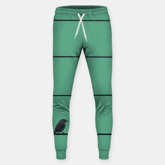 Thumbnail image of Bird and wires 2 Sweatpants, Live Heroes