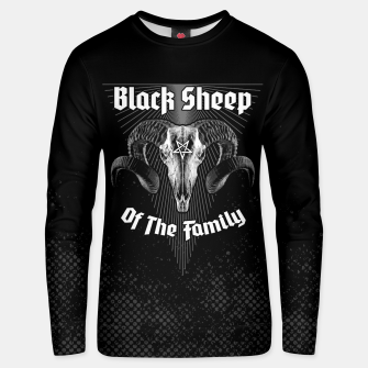 Miniatur Black Sheep Of The Family Unisex sweater, Live Heroes