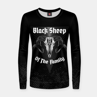 Thumbnail image of Black Sheep Of The Family Women sweater, Live Heroes