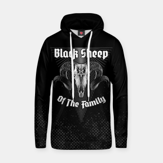 Thumbnail image of Black Sheep Of The Family Hoodie, Live Heroes