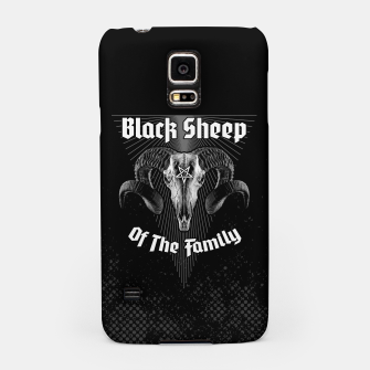 Miniatur Black Sheep Of The Family Samsung Case, Live Heroes