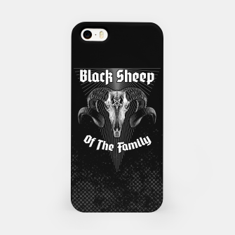 Miniatur Black Sheep Of The Family iPhone Case, Live Heroes