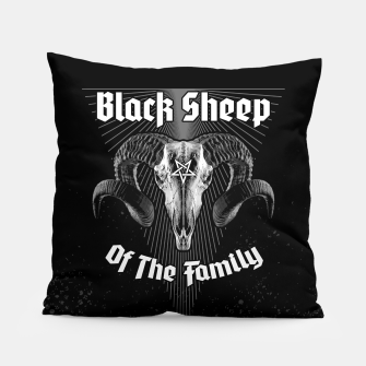Thumbnail image of Black Sheep Of The Family Pillow, Live Heroes