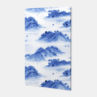 Thumbnail image of Morning in the Mountains Canvas, Live Heroes