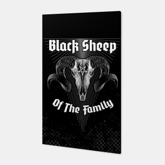 Miniatur Black Sheep Of The Family Canvas, Live Heroes