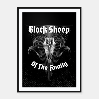 Miniatur Black Sheep Of The Family Framed poster, Live Heroes