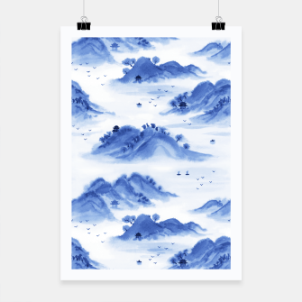 Thumbnail image of Morning in the Mountains Poster, Live Heroes
