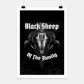 Thumbnail image of Black Sheep Of The Family Poster, Live Heroes