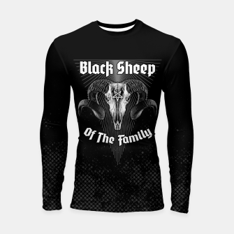 Thumbnail image of Black Sheep Of The Family Longsleeve rashguard , Live Heroes