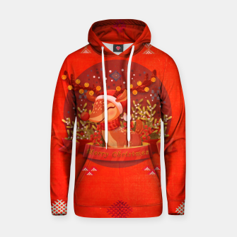 Thumbnail image of Merry Christmas Dear Deer. Hoodie, Live Heroes