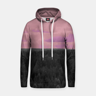 Thumbnail image of Forest and pink sky Hoodie, Live Heroes