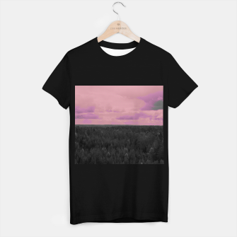Thumbnail image of Forest and pink sky T-shirt regular, Live Heroes