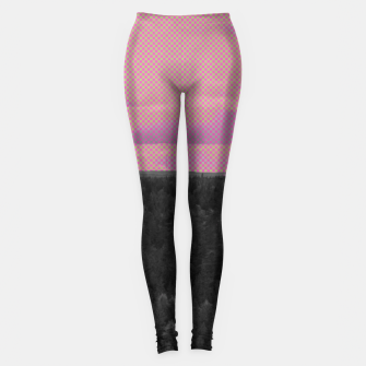 Thumbnail image of Forest and pink sky Leggings, Live Heroes