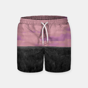 Thumbnail image of Forest and pink sky Swim Shorts, Live Heroes