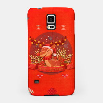 Thumbnail image of Merry Christmas Dear Deer. Samsung Case, Live Heroes