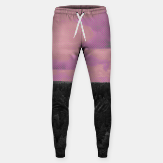 Thumbnail image of Forest and pink sky Sweatpants, Live Heroes