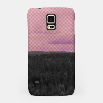 Thumbnail image of Forest and pink sky Samsung Case, Live Heroes