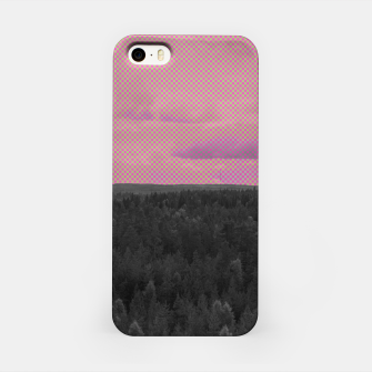 Thumbnail image of Forest and pink sky iPhone Case, Live Heroes