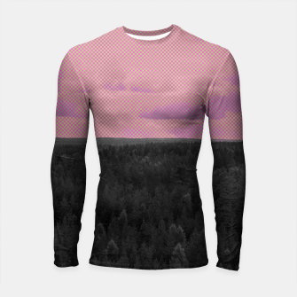 Thumbnail image of Forest and pink sky Longsleeve rashguard , Live Heroes