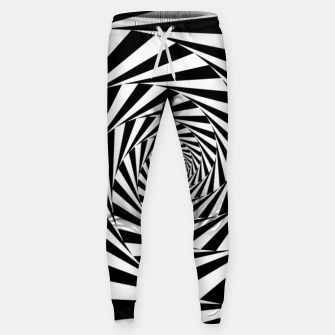 Thumbnail image of Spiral illusion Sweatpants, Live Heroes